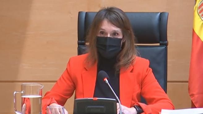 Comparecencia de Rocío Lucas en las Cortes.