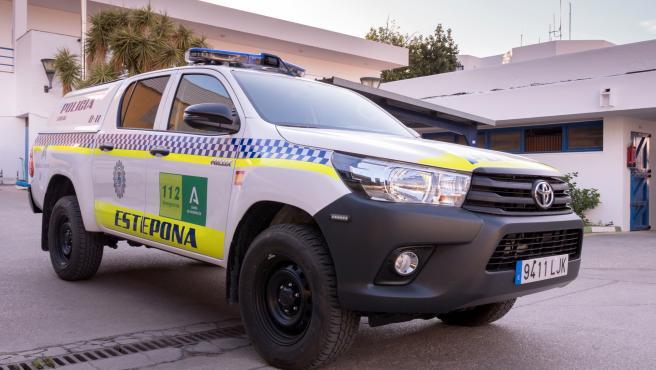 Málaga.- El Ayuntamiento de Estepona mejora los recursos de la Policía Local con la renovación de la flota de vehículos
