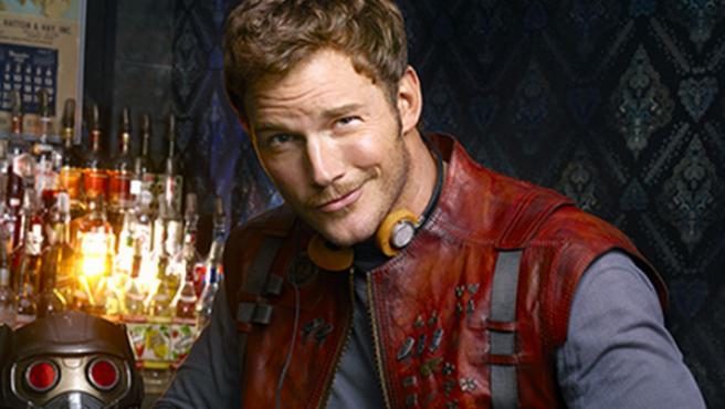 Chris Pratt como Star Lord