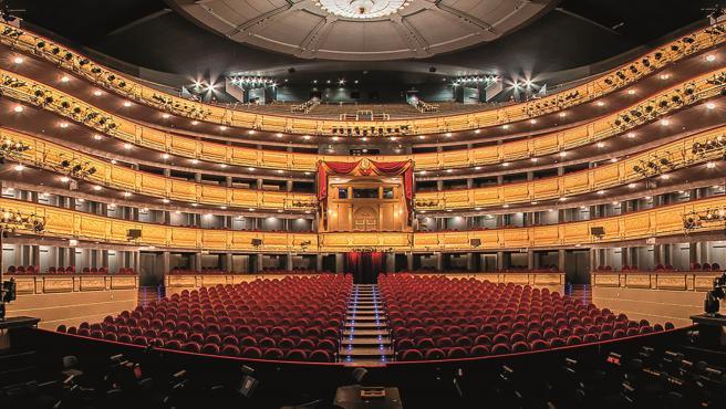 Imagen del Teatro Real de Madrid.