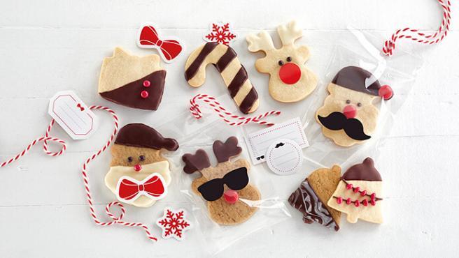 Estas galletas son perfectas para regalar o para disfrutar durante el postre.
