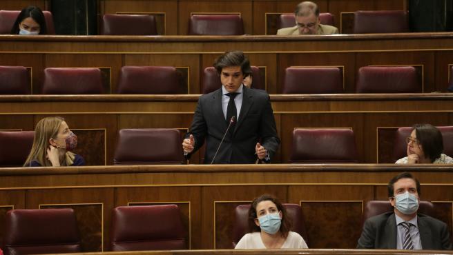 El diputado de Vox José María Figaredo