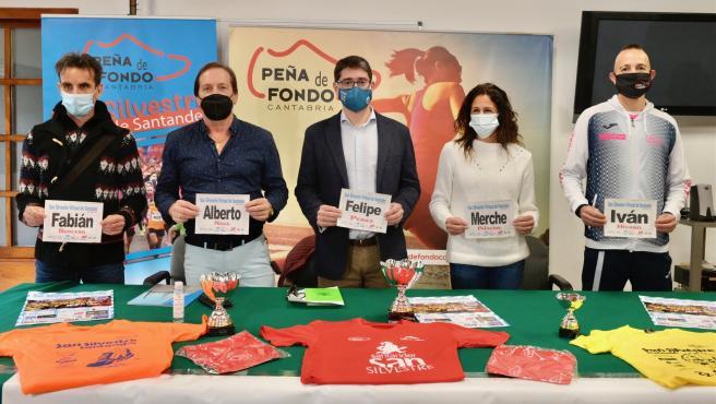 Presentación de la San Silvestre solidaria de Santander