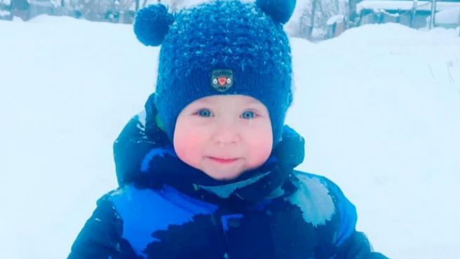 El pequeño Dima, asesinado supuestamente por sus abuelos.