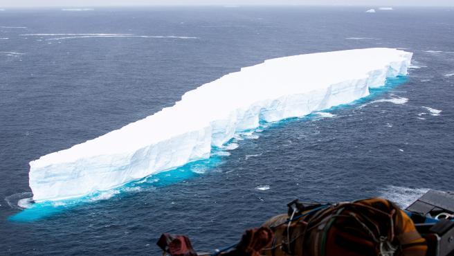 El iceberg gigante A68a en una imagen de archivo.
