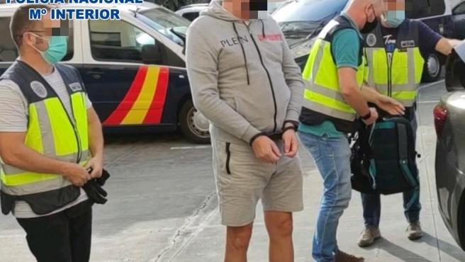 La Policía Nacional detiene a un ciudadano ruso en base a una orden internacional de detención emitada por ese país