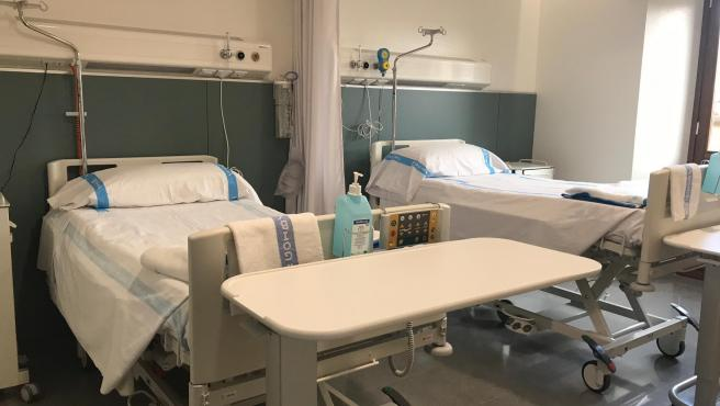 Imagen de recurso del Hospital General de Mallorca, cama, habitación, centro hospitalario, Palma, archivo