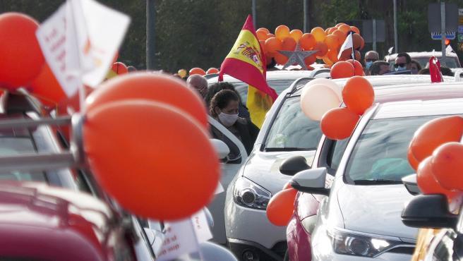 Protesta en Sevilla contra la Ley Celaá.