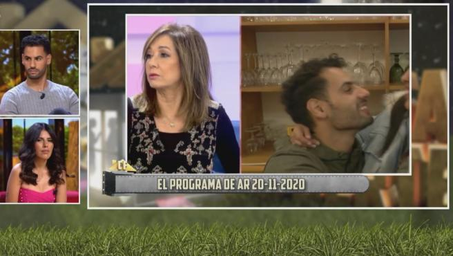 Asraf, viendo las críticas de Ana Rosa Quintana.