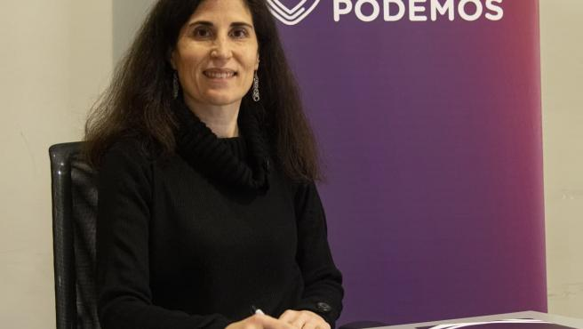 La diputada de Unidas Podemos e impulsora de la iniciativa parlamentaria, Antònia Martín.