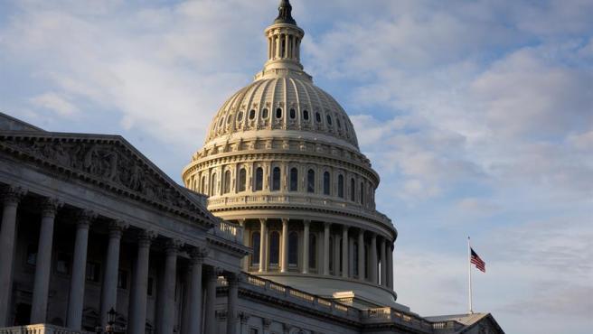 El edificio del Capitolio, sede del Congreso de EE UU, en Washington DC.