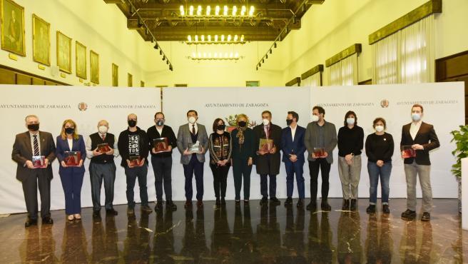 La Asociación de Exconcejales Democráticos de Zaragoza '3 de Abril' entrega sus premios