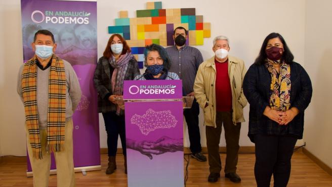 Equipo provincial de Podemos Sevilla