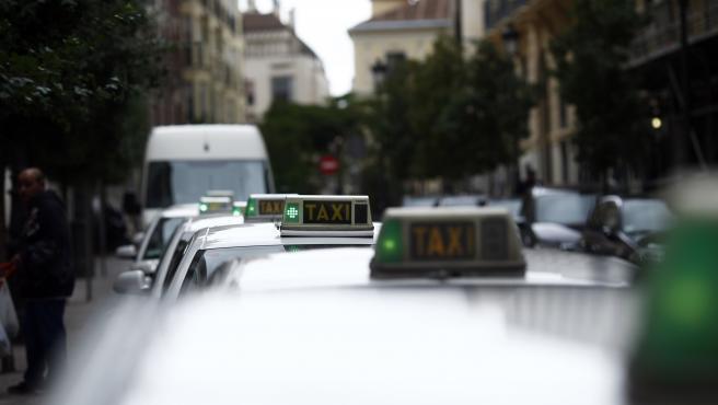 Imagen de recurso de taxis de Madrid.