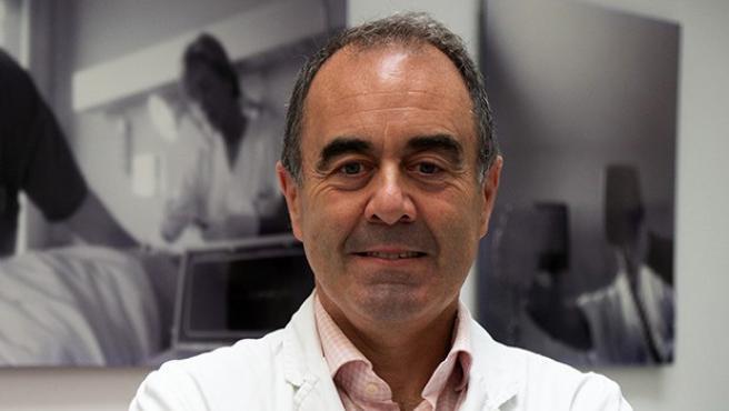 Marcos López Hoyos, jefe de Inmunología de Valdecilla y presidente de la Sociedad Española de Inmonología