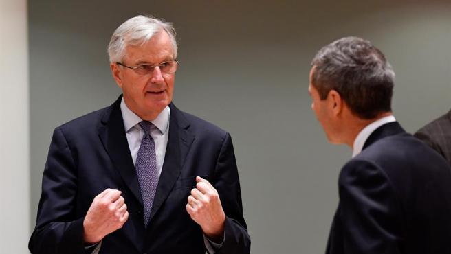 El jefe de la delegación negociadora de la UE para el 'brexit', Michel Barnier, en Bruselas.