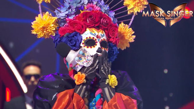 Catrina, en 'Mask Singer'.