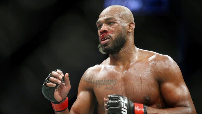 Jon Jones, ex campeón de los pesos semipesados de la UFC