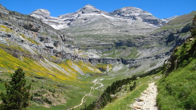 El Monte Perdido es patrimonio de la Humanidad desde 1997.
