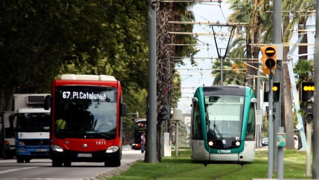 Está previsto un nuevo tramo del tranvía, de Glòries a Verdaguer, en 2023.