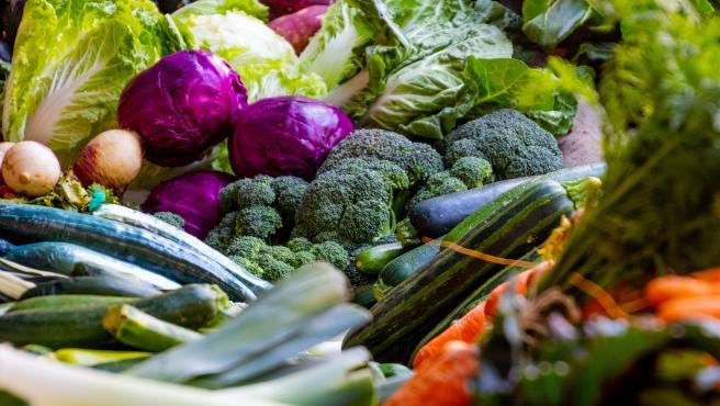 Imagen de archivo de verduras.