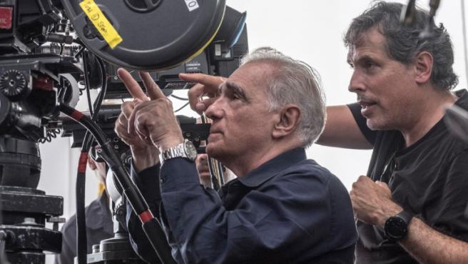 Martin Scorsese en pleno rodaje