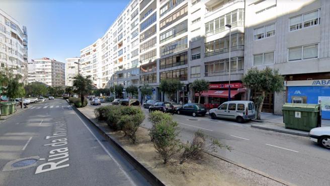 Imagen de la Travesía de Vigo.