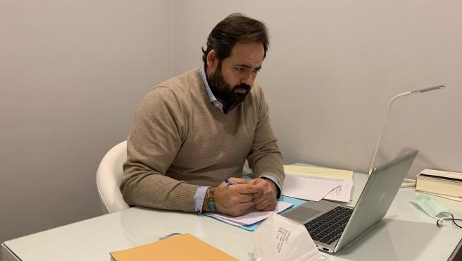 El presidente del PP, Paco Núñez,