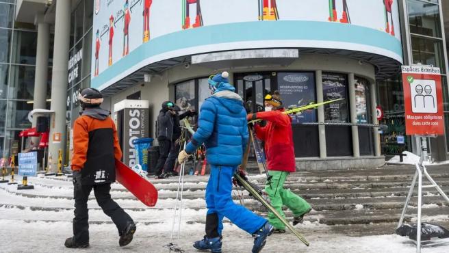 Estación de esquí de Verbier, en Suiza.