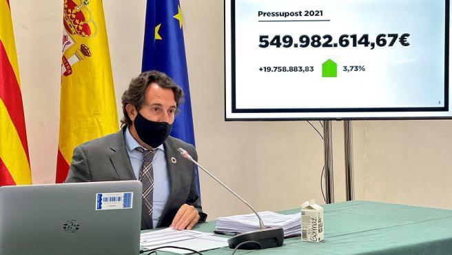 La Diputació De València Presenta El Mayor Presupuesto De Su Historia Con 550 Millones De Euros