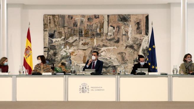 El Consejo de Ministros, reunido este martes.
