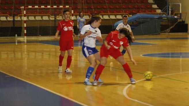 Partido entre el Linares Deportivo y el CD Linares CF