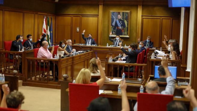 Pleno de la Diputación de Almería en una imagen de archivo