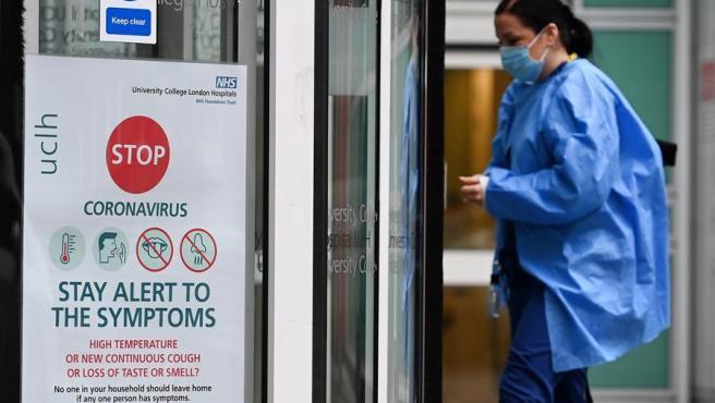 Imagen de un hospital de Londes, Reino Unido.
