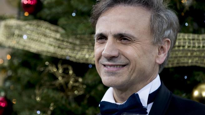 El actor y cómico José Mota durante la presentación de la programación de Navidad de La 1.