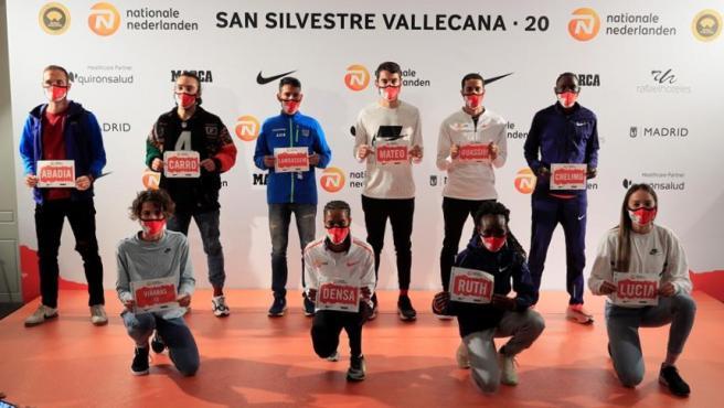 Presentación de la San Silvestre Vallecana 2020.
