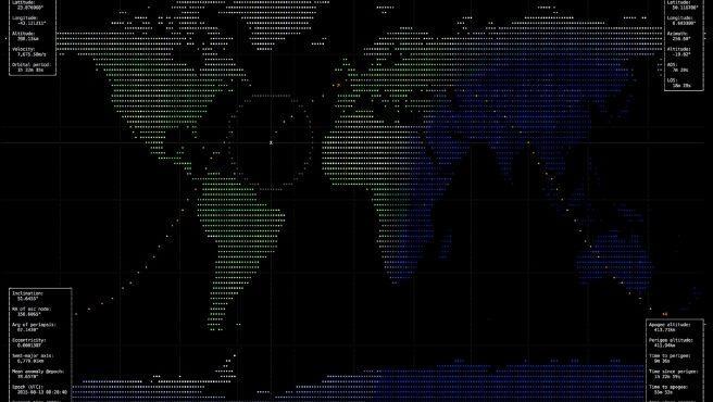 Sigue la trayectoria de la ISS y de los otros muchos satélites que orbitan sobre la Tierra.