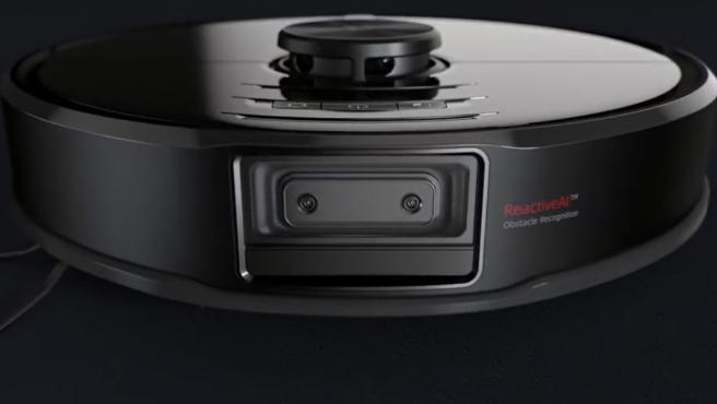 Imagen del Roborock S6 MaxV, el aspirador con cámara.
