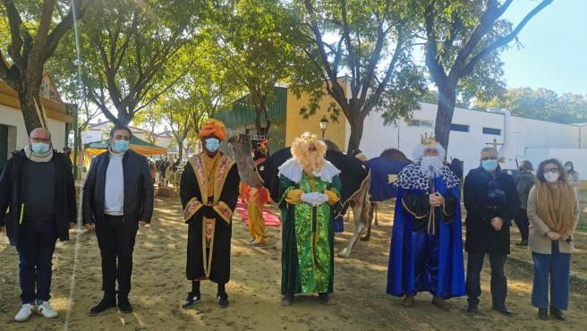 Campamento de los Reyes Magos en Bormujos