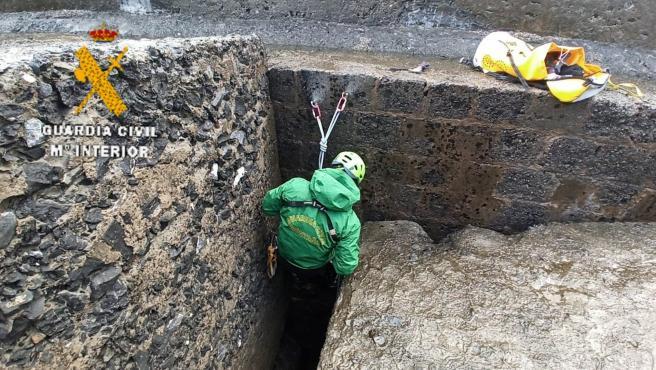 Dispositivo de búsqueda del hombre desaparecido en Muros del Nalón.