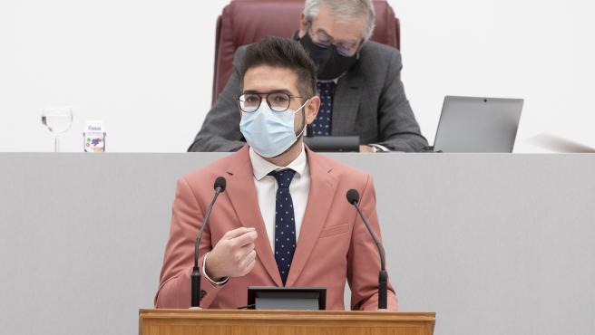 El diputado del Grupo Parlamentario Socialista, Antonio Espín