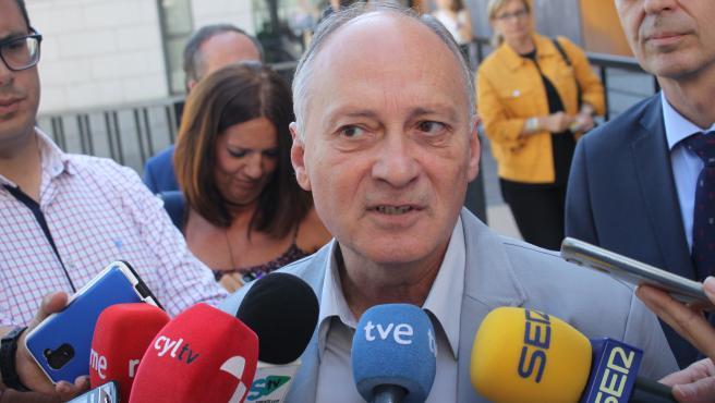 El secretario general de UGT en Castilla y León, Faustino Temprano, en una imagen de archivo.