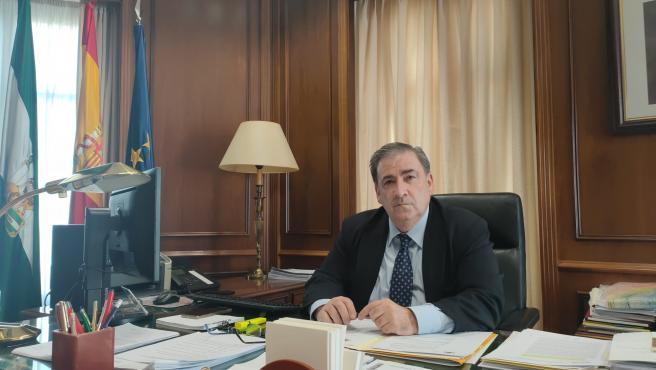 El subdelegado del Gobierno en Málaga, Teófilo Ruiz Municio.