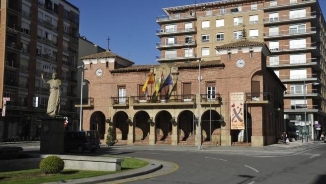 Fachada Ayuntamiento de Calahorra