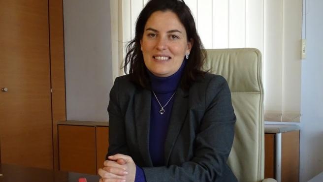 Portavoz de Ciudadanos en el Ayuntamiento de Tarazona, Ana Rita Marqués.