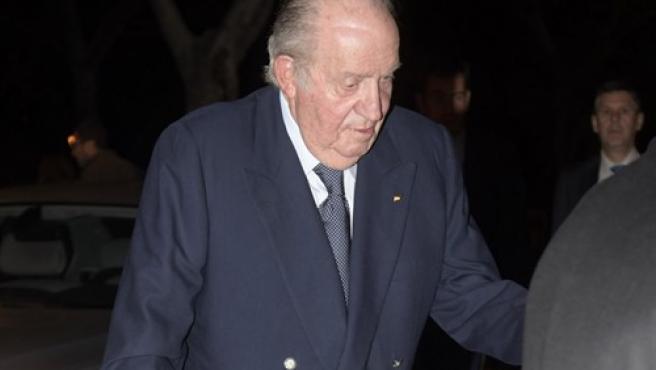 El rey don Juan Carlos, en una de sus últimas apariciones públicas.