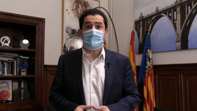 Vídeo difundido del alcalde de Alcoi (Alicante), Toni Francés