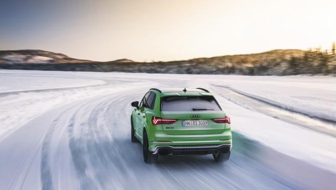 Conducción sobre nieve.