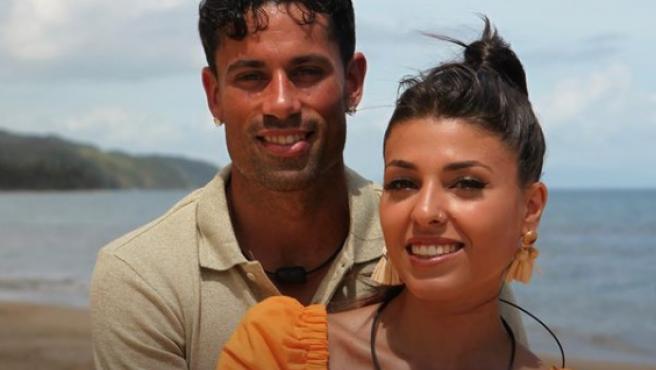 Diego y Lola, pareja de 'La isla de las tentaciones 3'.