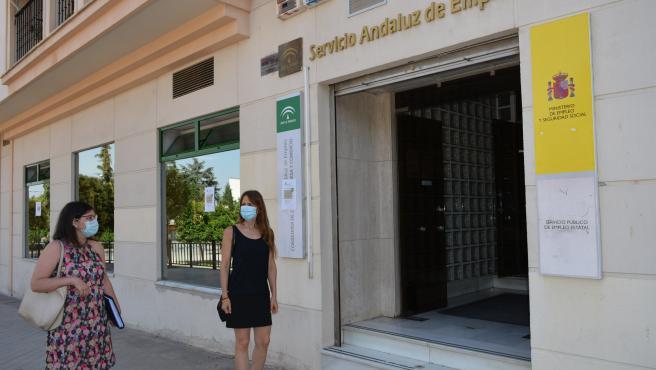 Oficina del Servicio Andaluz de Empleo (SAE) (Foto de archivo).